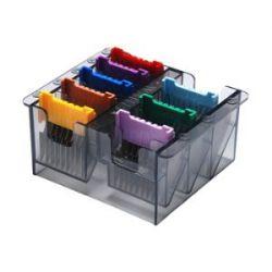 Kit Adaptadores Aço Inox 8 Peças - Wahl - Para Uso Em Lâmina 40 E Máquina Bravura