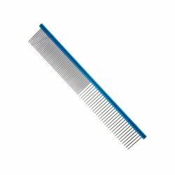 Pente 25cm Duplo Aluminio Azul ProPetz