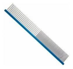 Pente  30cm Duplo Aluminio Azul ProPetz